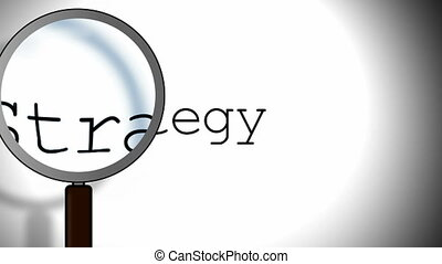 Strategy Magnifying Glass