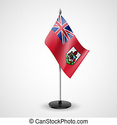 Table flag of Bermuda - State table flag of Bermuda....