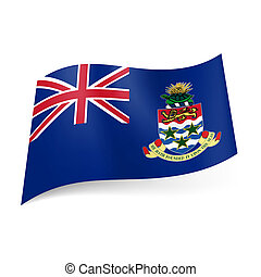 Flag of Cayman Islands - Flag of Overseas British territory...