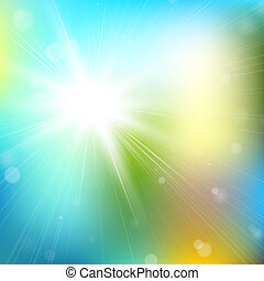 Abstract glowing background - Sparkling bokeh background...