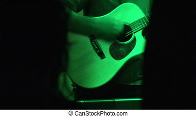 Stock Footage - Guitar Playing