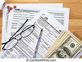 Tax forms needed for Idaho and tools