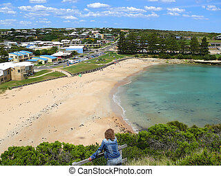 Great Ocean Road. - The Small comfortable borough with beach...