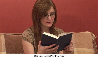 Stock Footage - Reading