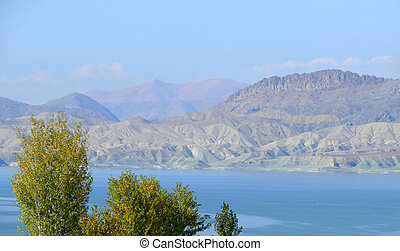 Turkey, the Euphrates. landscape nature mountains.