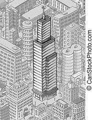 Skyscraper Tower