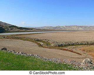 Turkey. Desert valley.