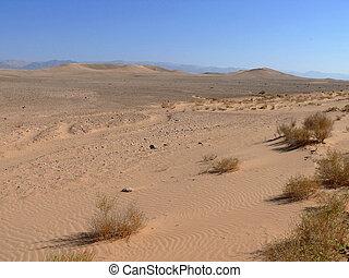 Jordan. Desert. - Landscape nature. Desert. Journey to...