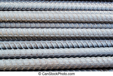 Metal tubes Abstract industrial background