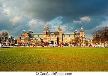 Rijksmuseum Amsterdam - The Rijksmuseum Amsterdam museum...