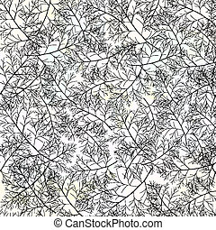 Floral seamless pattern. Vector, EPS 10
