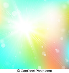 Abstract glowing background - Sparkling bokeh background....