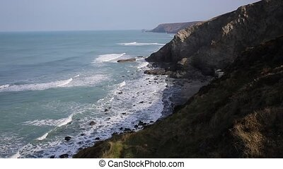 Cornwall coast North Porthtowan - Porthtowan near St Agnes...