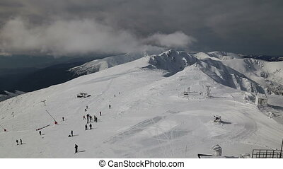 snow mountain Slovakia ski winter