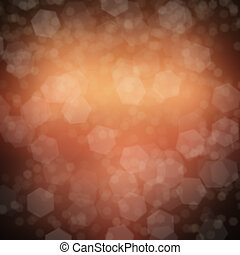 Abstract bokeh lights defocused background