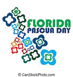 pascua,  Florida, día