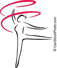 artistisk, Gymnastik