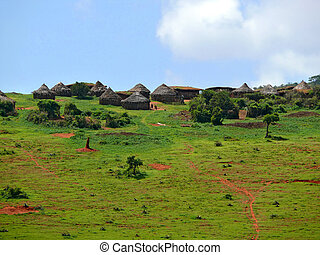 Ethiopian national housing of cross-border settlement Moiale...