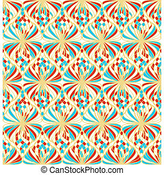Light Mosaic Seamless Pattern - Abstract mosaic seamless...