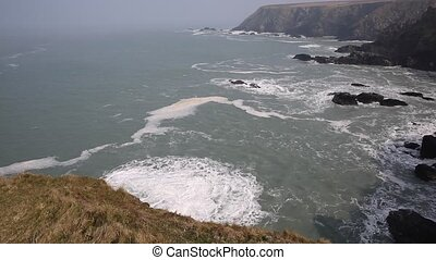 View from Navax Point Cornwall UK - View from Navax Point...