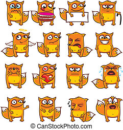 16 smiley foxes (2)