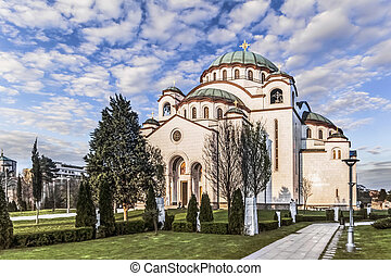 St Sava Temple - Belgrade - The Temple of Saint Sava,...