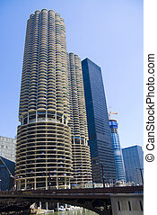 Chicago condominiums - Highrise condominium buildings in...