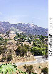 Hollywood Sign taken from Beverly Hills
