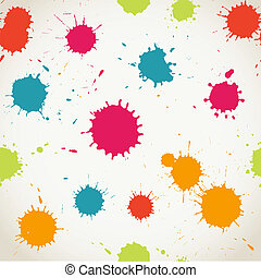 Spray paint watercolor seamless patternCopy square to the...