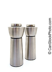Salt and pepper mills - Stainless steel salt and pepper...