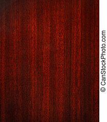 caoba, de madera, textura