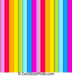 Seamless pattern of  rainbow colored stripes