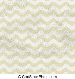 Seamless vintage beige pattern of horizontal smooth waves on...