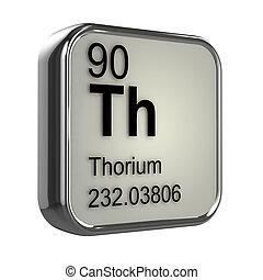 3d Thorium element - 3d render of thorium element design