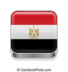Metal  icon of Egypt