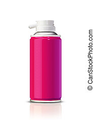 Aluminum spray can, you can use it as painting spray can or...