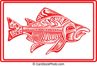 Salmon - Salmon in tribal
