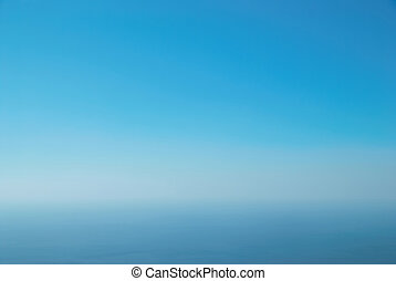 Clear blue sky can be used for background