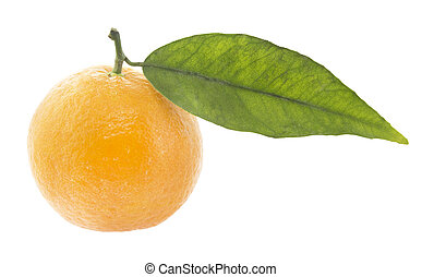 Clementine - pile of Clementine Mandarin Oranges isolated on...
