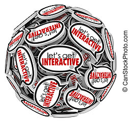Lets Get Interacive Speech Bubbles Group Communication