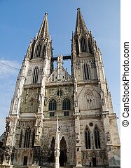 Cathedral of Regensburg (Germany, Bavaria)