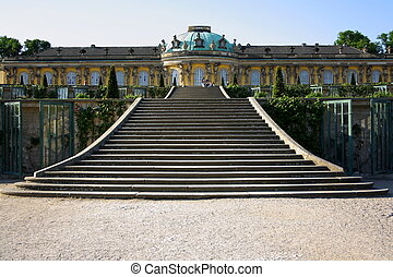 Sanssouci Palace in Potsdam, horizontal