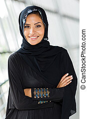 middle eastern woman with arms crossed - beautiful middle...