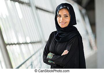 moderne, arabe, femme