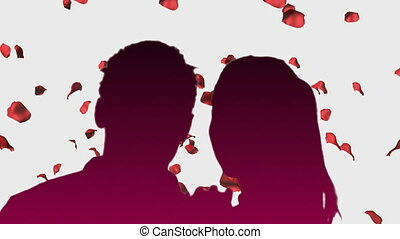 Romantice Couple 3 - Romantic Couple with animated...