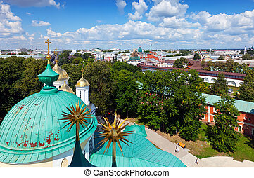 View of Yaroslavl city, Russia