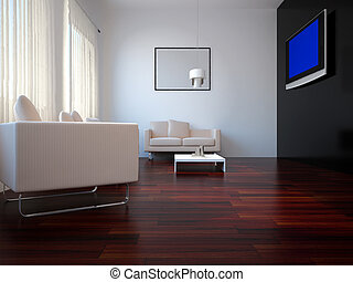 Interior set forty four - High resolution image interior 3d...