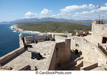 Santiago de cuba - Castillo del Morro, Morro Castle, at the...