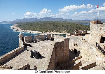 Santiago de cuba - Castillo del Morro, Morro Castle, at the...