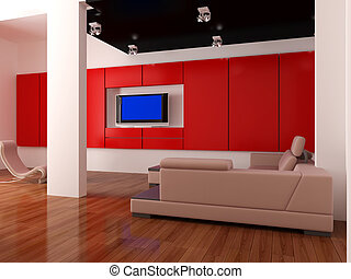 Interior set twelve - High resolution image interior 3d...